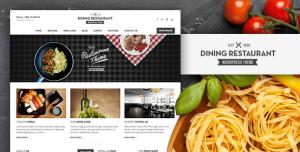 Создание сайта ресторанов и кафе