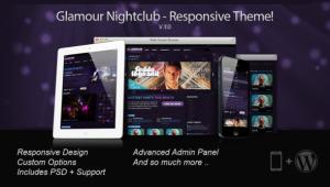 Создание веб-сайта для ночного клуба