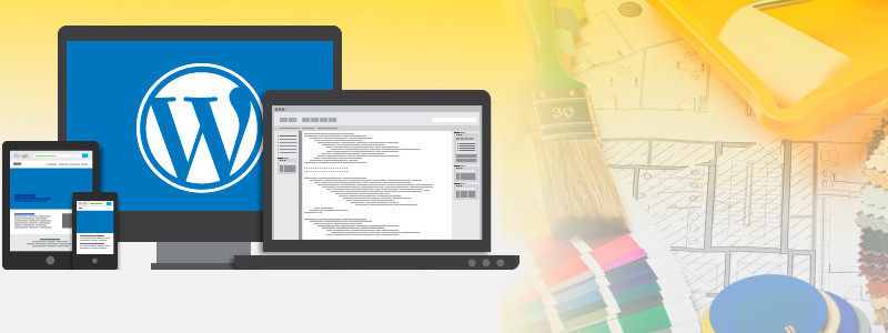 Заказать сайт на шаблоне WordPress в киеве